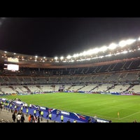 Photo taken at Stade de France by Ryad Z. on 9/12/2012