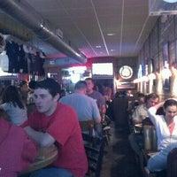 Photo taken at Pequod's Pizzeria by Jeffrey S. on 4/15/2012