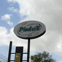 Photo taken at Pinto's Deli by Juan V. on 7/15/2012