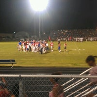 Photo taken at pchs  football field by Albert F. on 8/18/2012