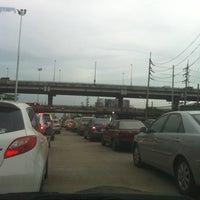 Photo taken at Borommaratchachonnani Intersection by chayinat t. on 7/28/2012