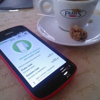 Photo taken at Fran's Café by Igor on 9/11/2012