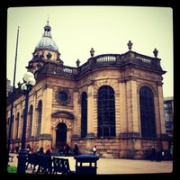 Photo taken at Birmingham Cathedral and Churchyard by Samantha C. on 6/14/2012