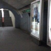 Photo taken at Metro Arroios [VD] by Carla S. on 9/13/2012
