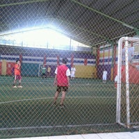 Photo taken at Arrayan Futsal by Reby O. on 6/27/2012
