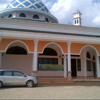 Photo taken at Masjid Agung As-Salam by Ganis S. on 8/20/2012
