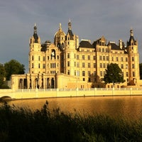 Photo taken at Schweriner Schloss by Christoph J. on 8/18/2012