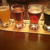 Photo taken at Karl Strauss Brewing Company by Diana on 3/10/2012
