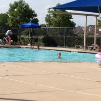 Photo taken at Bay Colony Pool by Carla C. on 6/10/2012
