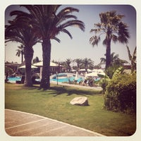 Photo taken at Sheraton Rhodes Resort by Seb i. on 8/14/2012