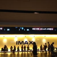 Photo taken at CGV Yongsan IPARK Mall by Anna Y. on 8/26/2012
