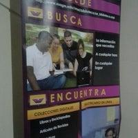 Photo taken at Biblioteca UMET by Brenda B. on 9/6/2012