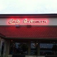 Photo taken at Cafe Calamari by David L. on 9/2/2012