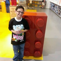 Photo taken at The LEGO Store by Lisamarie on 5/1/2012