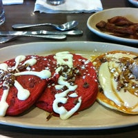 Photo taken at Snooze by Charles C. on 5/14/2012