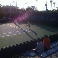 Photo taken at Court 7 - USTA Billie Jean King National Tennis Center by Pierangelo R. on 8/31/2012