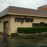 Photo taken at Mytee Muffler Shop by James E. on 6/4/2012