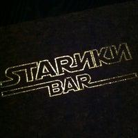 Снимок сделан в Stariki Bar пользователем Leo D. 8/15/2012