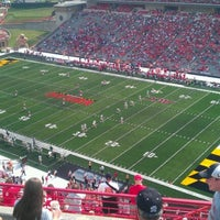 Photo taken at Capital One Field at Maryland Stadium by Chris C. on 9/1/2012
