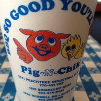 Photo taken at Pig N Chik BBQ by Kevin S. on 4/22/2012