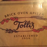 Photo taken at Tolli's Apizza & Restaurant by stephanie g. on 9/5/2012