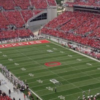 Photo taken at Ohio Stadium by Sarah F. on 9/8/2012