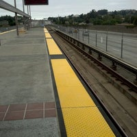 Photo taken at Castro Valley BART Station by Irene A. on 8/4/2012