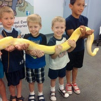 Photo taken at Bear Valley Branch Library by Kris on 6/22/2012