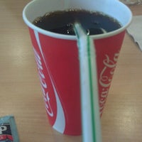 Photo taken at Morrisons Cafe by James M. on 6/8/2012