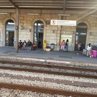 Photo taken at Stazione Falconara Marittima by Matteo R. on 7/22/2012
