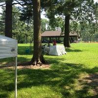 Photo taken at Pilcher Park by Karen F. on 5/19/2012