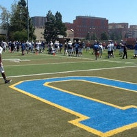 Photo taken at UCLA Spaulding Field by Phil B. on 4/21/2012