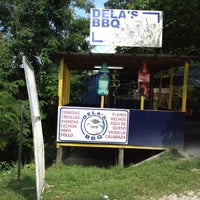Photo taken at Dela's BBQ by Frank H. on 4/19/2012