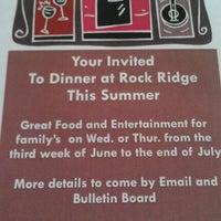 Photo taken at Rock Ridge Community Club by Doreen E. on 5/26/2012