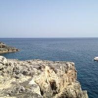 Photo taken at Punta Ristola by SirCambiozzi on 8/7/2012