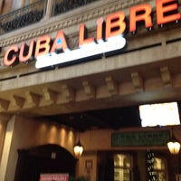 Photo taken at Cuba Libre Restaurant & Rum Bar by Samkit S. on 6/30/2012