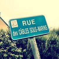 Photo taken at Rue des cables sous-marins by Régis L. on 8/13/2012