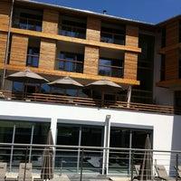 Photo taken at Exquisit Hotel, Oberstdorf by Magnus H. W. on 6/19/2012