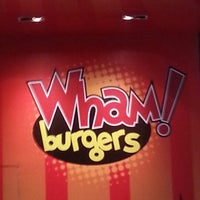 Photo taken at Wham! Burgers by Oddie I. on 6/30/2012