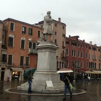Photo taken at Campo San Stefano by Dani T. on 5/21/2012