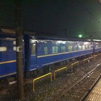 Photo taken at Oku Station by Munetoshi T. on 4/22/2012