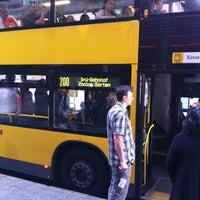 Photo taken at Linie 200 by Alexandra K. on 8/8/2012