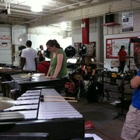Photo taken at BU Band Room by Christina F. on 3/9/2012