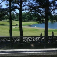 Photo taken at Colonial Country Club by Jonathan P. on 4/18/2012