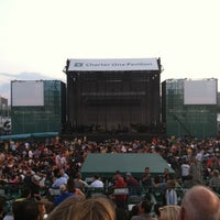 Photo taken at Huntington Bank Pavilion at Northerly Island by Vanessa J. on 7/10/2012