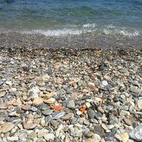 Photo taken at Vlastos beach by martinaki  l. on 7/29/2012