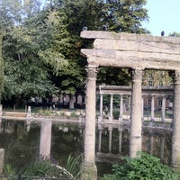 Photo taken at Parc Monceau by Elena A. on 9/10/2012