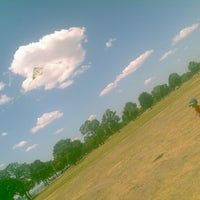 Photo taken at Belle Isle Athletic Field by Tiffany L. on 6/26/2012