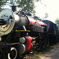 Photo taken at Texas State Railroad Rusk Depot by Ryan F. on 4/7/2012