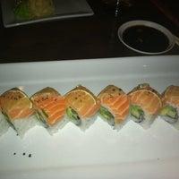 Photo taken at Sabaku Sushi by Jakki M. on 4/5/2012